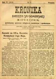Kronika Diecezji Sandomierskiej, 1916, R. 9, nr 9