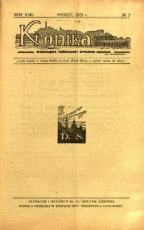 Kronika Diecezji Sandomierskiej, 1925, R. 18, nr 3