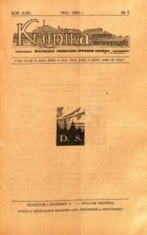 Kronika Diecezji Sandomierskiej, 1925, R. 18, nr 5