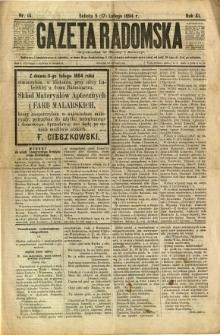 Gazeta Radomska, 1894, R. 11, nr 14