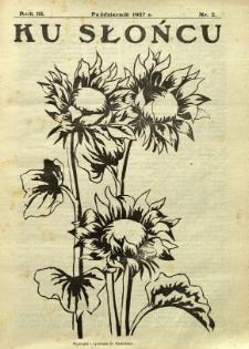 Ku Słońcu, 1927, R. 3, nr 2