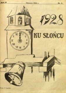 Ku Słońcu, 1928, R. 3, nr 5