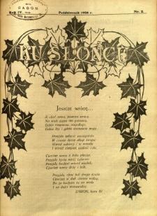 Ku Słońcu, 1928, R. 4, nr 2