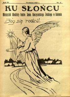 Ku Słońcu, 1928, R. 4, nr 4