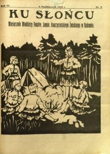 Ku Słońcu, 1930, R. 6, nr 2