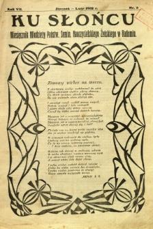 Ku Słońcu, 1932, R. 7, nr 3