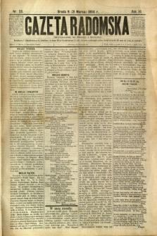 Gazeta Radomska, 1894, R. 11, nr 23