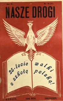 Nasze Drogi, 1930, R. 4, nr 10