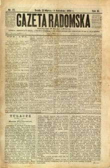 Gazeta Radomska, 1894, R. 11, nr 27