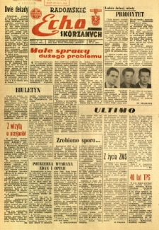 Radomskie Echo Skórzanych, 1966, R. 11, nr 31