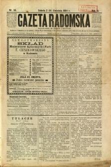 Gazeta Radomska, 1894, R. 11, nr 30