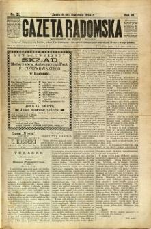 Gazeta Radomska, 1894, R. 11, nr 31