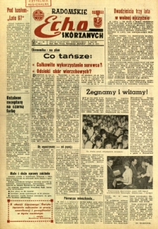 Radomskie Echo Skórzanych, 1967, R. 12, nr 19