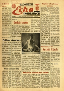 Radomskie Echo Skórzanych, 1968, R. 13, nr 9