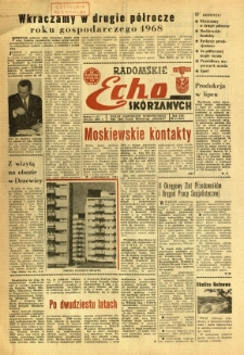 Radomskie Echo Skórzanych, 1968, R. 13, nr 21