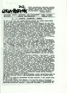 Wolny Robotnik, 1987, nr 6