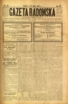 Gazeta Radomska, 1894, R. 11, nr 40