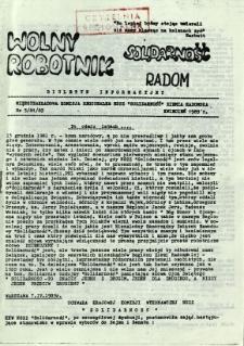 Wolny Robotnik, 1989, nr 5