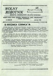 Wolny Robotnik, 1989, nr 8