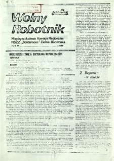 Wolny Robotnik, 1989, nr 13