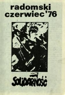 Radomski Czerwiec '76, 1981, [1981-06]