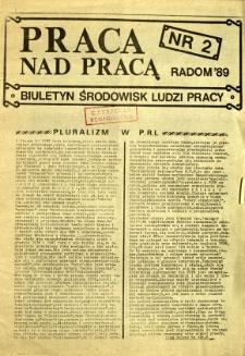 Praca Nad Pracą, 1989, nr 2
