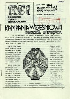 Radomski Serwis Informacyjny, 1981, nr 9
