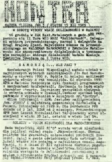 Kontra Gazeta Uliczna, 1989, nr 3