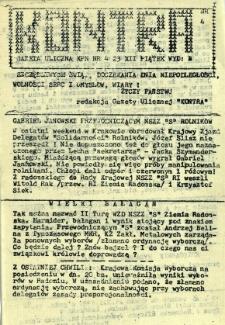Kontra Gazeta Uliczna, 1989, nr 4