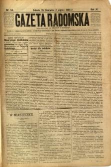 Gazeta Radomska, 1894, R. 11, nr 54
