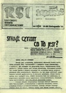 Radomski Serwis Informacyjny, 1981, nr 17/18