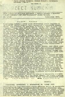 Rzecz Sumienia, 1987, nr 1