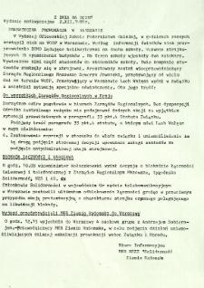 Z Dnia na Dzień, 1981, wydanie nadzwyczajne