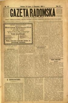 Gazeta Radomska, 1894, R. 11, nr 62