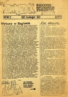Związek : Radomski Informator Związkowy, 1990, R.2, nr 5