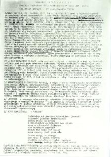 Biuletyn Strajkowy NSZZ Solidarność przy WSI w Radomiu, 1981-10-28