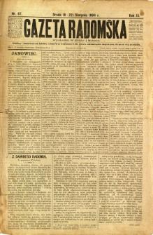 Gazeta Radomska, 1894, R. 11, nr 67