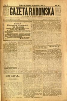 Gazeta Radomska, 1894, R. 11, nr 71