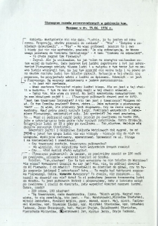 Stenogram rozmów przeprowadzonych w gabinecie kom. Mazgawy w dn. 25.06.1976 r.