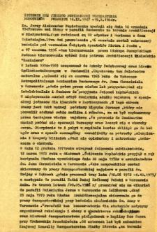Życiorys ks. Jerzego Popiełuszki duszpasterza robotników polskich 14.IX.1957-19.X.1984 r.