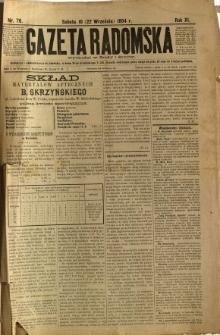 Gazeta Radomska, 1894, R. 11, nr 76