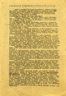 Konflikt radomski - ocena sytuacji