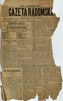 Gazeta Radomska, 1894, R. 11, nr 77