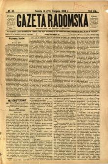 Gazeta Radomska, 1898, R. 15, nr 65