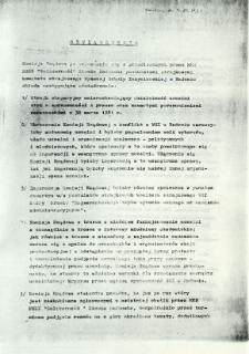 Oświadczenie Komisji Rządowej po zapoznaniu...