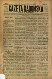Gazeta Radomska, 1898, R. 15, nr 67