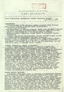 Solidarność Wiejska Ziemi Grójeckiej, 1981, nr 4