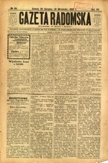 Gazeta Radomska, 1898, R. 15, nr 69