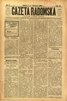 Gazeta Radomska, 1898, R. 15, nr 71