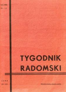 Tygodnik Radomski, 1934, R. 2, nr 14
